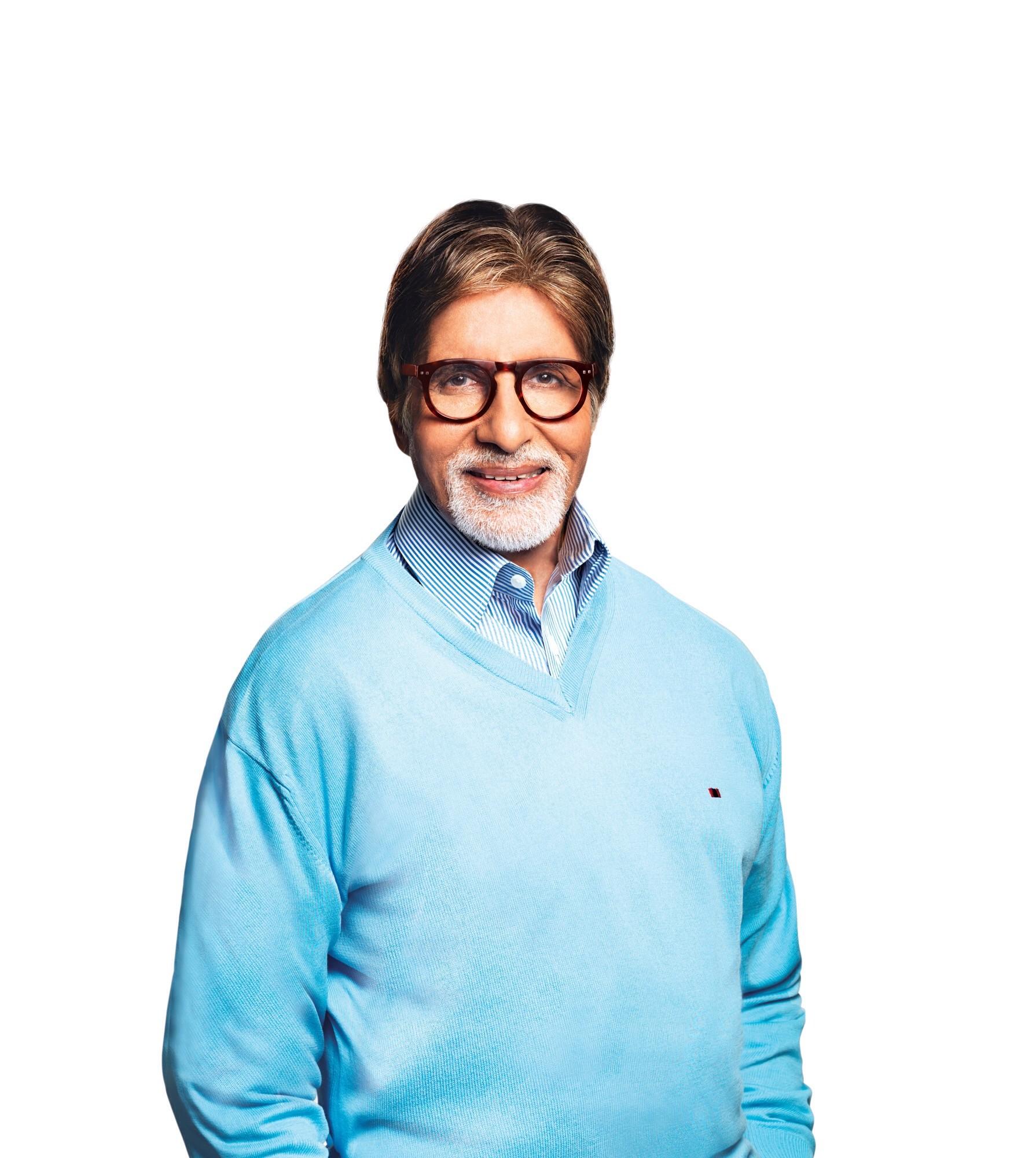 Amitabh Bachchan's Portrait photo.