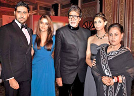 The entire Bachchan parivaar to walk the ramp together for the first time