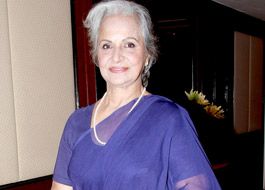 Waheeda Rehman returns to Bengali cinema
