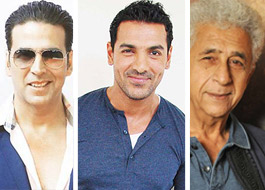 21 Years after Akshay Kumar, it is John Abraham's turn to face a blind Naseeruddin Shah