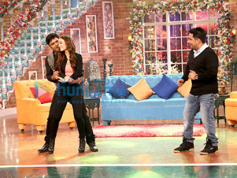 Kapil Sharma, Elli Avram, Ahmed Khan