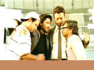 Movie Still From The Film Krazzy 4,Suresh Menon,Arshad Warsi,Irrfan Khan,Rajpal Yadav