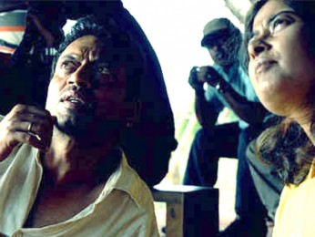 On The Sets Of The Film Billu Featuring Irrfan Khan