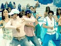 On The Sets Of The Film Billu Featuring Kareena Kapoor,Shahrukh Khan