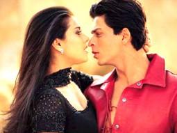 Movie Still From The Film Kabhi Khushi Kabhie Gham,Kajol,Shahrukh Khan