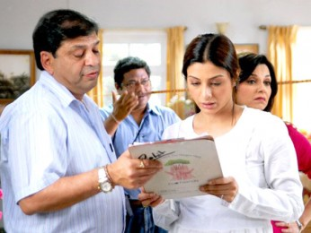 On The Sets Of The Film Banda Yeh Bindaas Hai Featuring Tabu
