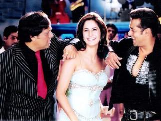 Movie Still From The Film Partner Featuring Govinda,Katrina Kaif,Salman Khan