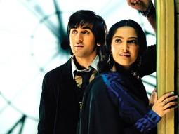Movie Still From The Film Saawariya Featuring Ranbir Kapoor,Sonam Kapoor
