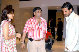 On The Sets Of The Film Baabul Featuring John Abraham