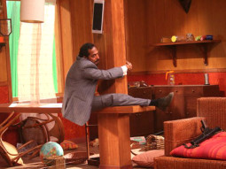 On The Sets Of The Film Welcome Featuring Nana Patekar