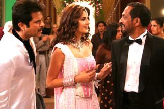 On The Sets Of The Film Welcome Featuring Anil Kapoor,Katrina Kaif,Nana Patekar