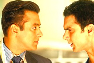 Movie Still From The Film Maine Pyaar Kyun Kiya Featuring Salman Khan,Sohail Khan