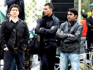 On The Sets Of The Film Kambakkht Ishq Featuring Akshay Kumar