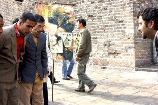 On The Sets Of The Film Chandni Chowk To China Featuring Akshay Kumar