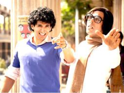 Movie Still From The Film Action Replayy,Aditya Roy Kapoor,Akshay Kumar