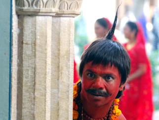 Movie Still From The Film Bhool Bhulaiyaa,Rajpal Yadav