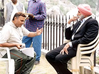 On The Sets Of The Film Ab Tumhare Hawale Watan Saathiyo Featuring