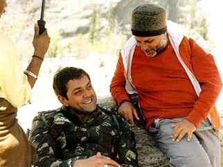 On The Sets Of The Film Ab Tumhare Hawale Watan Saathiyo Featuring Bobby Deol