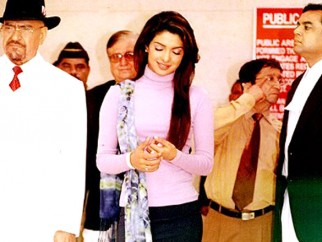 On The Sets Of The Film Aitraaz Featuring Priyanka Chopra