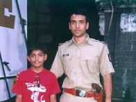 On The Sets Of The Film Khakee Featuring Tusshar Kapoor