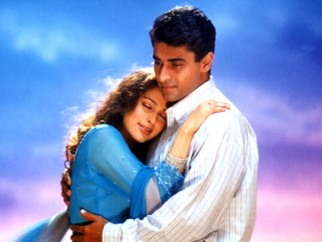 Movie Still From The Film Ek Rishtaa The Bond of Love Featuring Juhi Chawla,Mohnish Behl