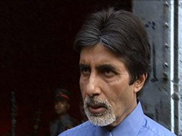 On The Sets Of The Film Ek Rishtaa The Bond of Love  Featuring Amitabh Bachchan