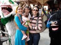 On The Sets Still From The Film Jab We Met Featuring Kareena Kapoor,Karisma Kapoor