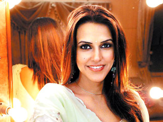 On The Sets Still From The Film Chup Chup Ke Featuring Neha Dhupia