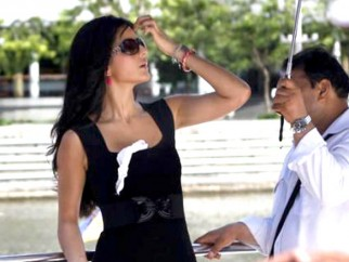 On The Sets Of The Film De Dana Dan Featuring Katrina Kaif