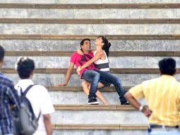 On The Sets Of The Film De Dana Dan Featuring Akshay Kumar,Katrina Kaif