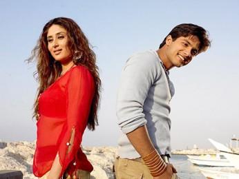 Movie Still From The Film Milenge Milenge,Kareena Kapoor,Shahid Kapoor