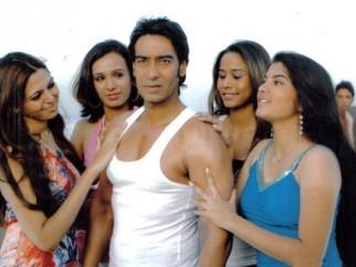 Movie Still From The Film Halla Bol,Ajay Devgn