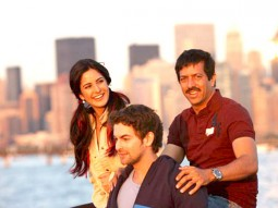 On The Sets Of The Film New York Featuring Katrina Kaif,Neil Nitin Mukesh