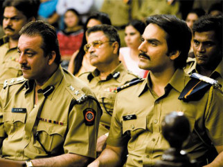 Movie Still From The Film Shoot Out At Lokhandwala Featuring Sanjay Dutt,Arbaaz Khan