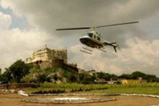 Movie Still From The Film Eklavya - The Royal Guard,Sanjay Dutt
