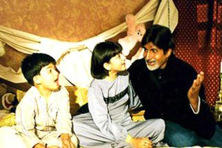 Movie Still From The Film Hum Kaun Hai,Amitabh Bachchan