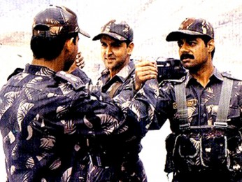 Movie Still From The Film Lakshya Featuring Hrithik Roshan