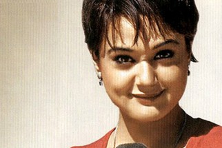 Movie Still From The Film Lakshya Featuring Preity Zinta