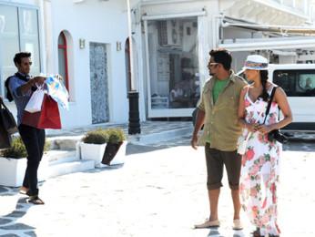 Movie Still From The Film Jodi Breakers,Mrinalini Sharma,Milind Soman,R Madhvan,Bipasha Basu