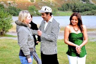 Movie Still From The Film Mr. Bhatti on Chutti