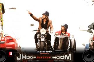 Movie Still From The Film Jhoom Barabar Jhoom,Bobby Deol,Abhishek Bachchan