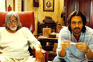 Movie Still From The Film The Last Lear Featuring Amitabh Bachchan,Arjun Rampal