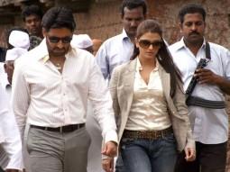 Movie Still From The Film Sarkar Raj,Abhishek Bachchan,Aishwarya Rai