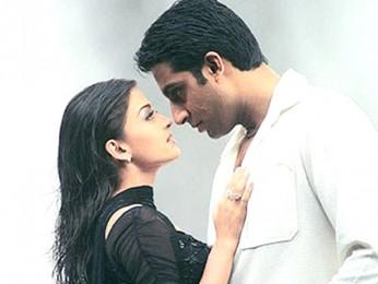 Movie Still From The Film Kuch Naa Kaho Featuring Aishwarya Rai,Abhishek Bachchan