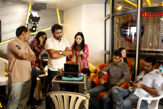 On The Sets Of The Film Vicky Donor,Shoojit Sircar