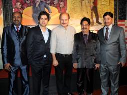 Photo Of Sanjay Roy,Shashank Bhapkar,Anupam Kher,Balasaheb Bhapkar,Suresh Shrivastava From The Premiere of 'Chhodo Kal Ki Baatein' & 'Kashyala Udyachi Baat'