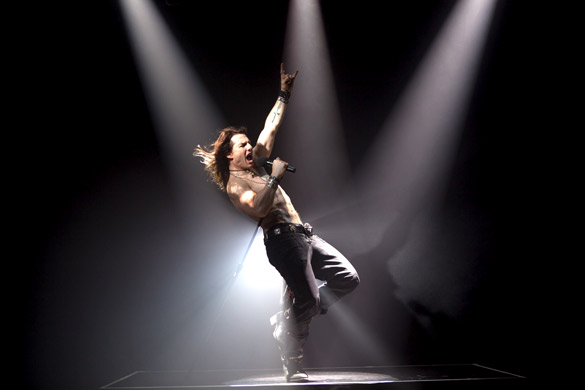 Movie Still From The Film Rock Of Ages