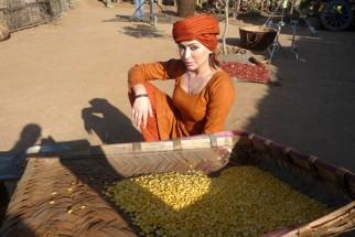 On The Sets Of The Film Kamaal Dhamaal Malamaal,Tareena Patel