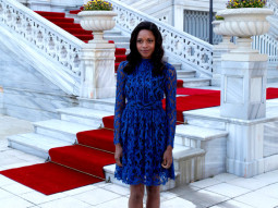 Photo Of Naomie Harris From The Skyfall's cast and crew arrive on location in Istanbul