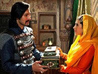 Movie Still From The Film Dangerous Ishhq,Rajneesh Duggall,Karisma Kapoor
